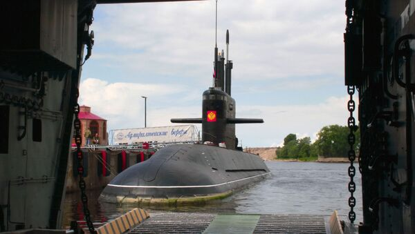 Дизельная подводная лодка. Архив