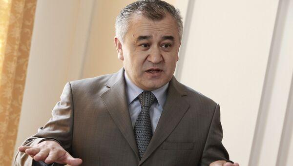 Вице-премьер временного правительства Кыргызстана Омурбек Текебаев