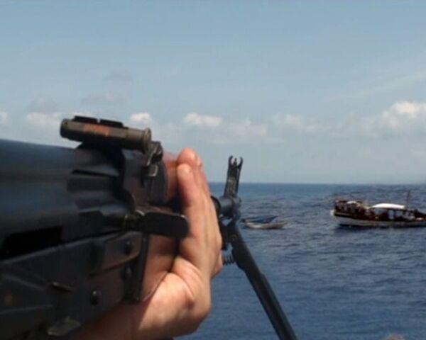 Петр Великий провел досмотровую операцию в Индийском океане