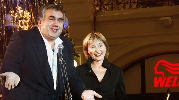 Выступление Станислава Садальского и Ларисы Удовиченко на Благотворительном вечере