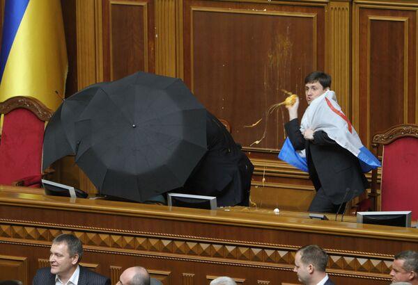 Ратификация договора о ЧФ РФ в Верховной Раде Украины