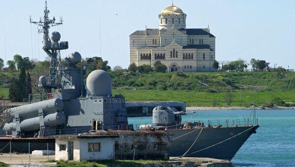 Военно-морская база Черноморского флота Российской Федерации в Севастополе. Архив