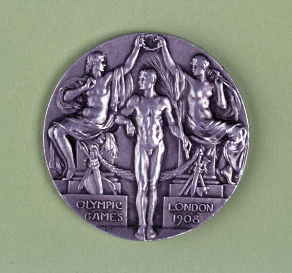 Медаль IV Олимпийских игр в Лондоне