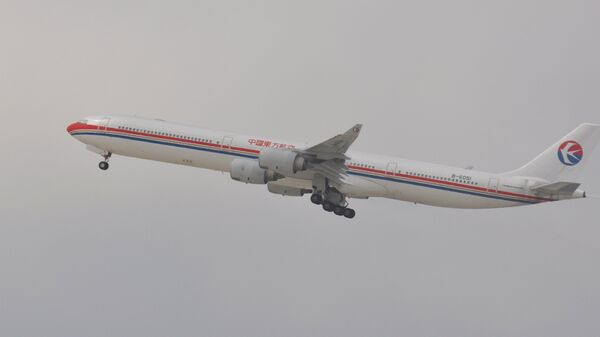 Аэробус A340 авиакомпании China Eastern Airlines. Архив