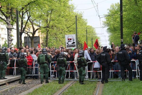 Беспорядки в Берлине 1 мая 2010 г.