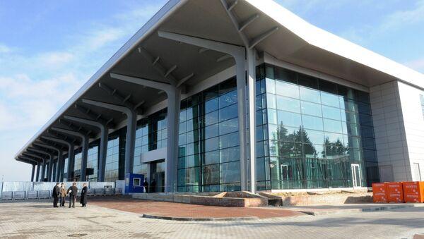 Терминал аэропорта в Харькове. Архивное фото