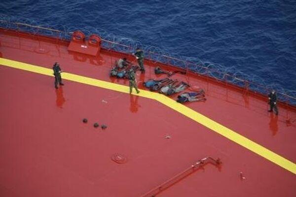 Освобождение захваченного пиратами танкера Московский университет