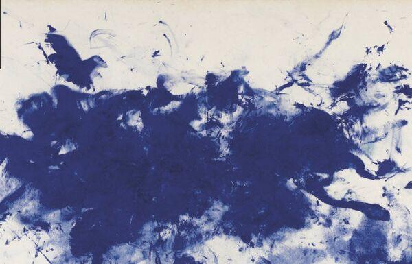 Ив Кляйн. Работа из серии Антропометрия (1960-1961)