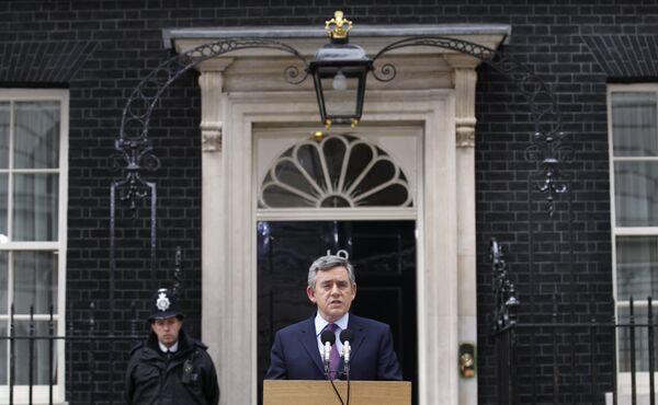 Премьер-министр Великобритании Гордон Браун