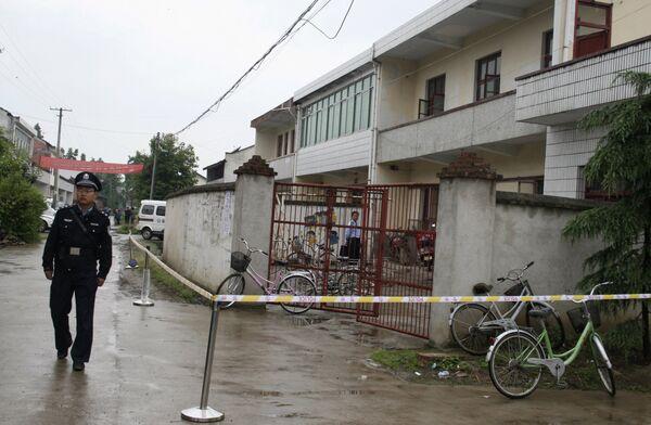 Нападение на детский сад в китайской провинции Шэньси