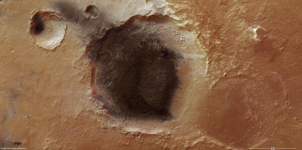Отложения вулканического пепла обнаружены на Марсе