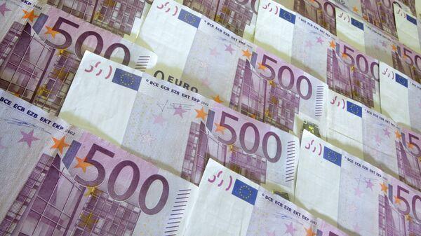 Денежные купюры 500 евро