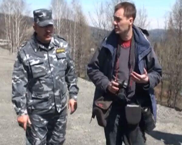 Журналистов срочно эвакуировали от шахты Распадская