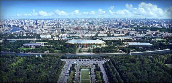 Стадион Москва Лужники