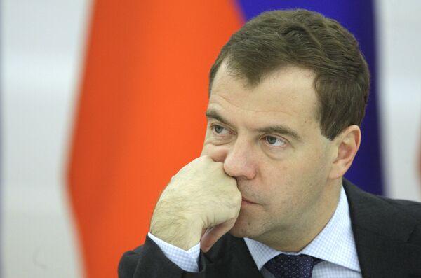Президент РФ Д.Медведев провел заседание президентской комиссии по экономике