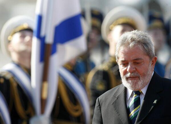 Визит Президента Бразилии Луиса Инасио Лула да Силвы в Москву