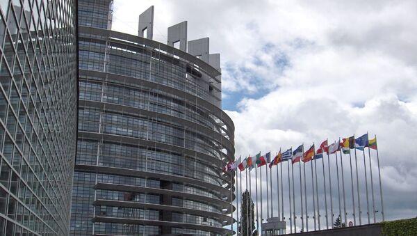 Здание Европейского парламента в Страсбурге. Архивное фото