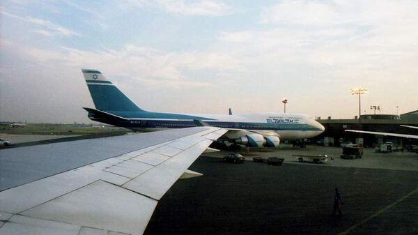 Самолет авиакомпании El Al