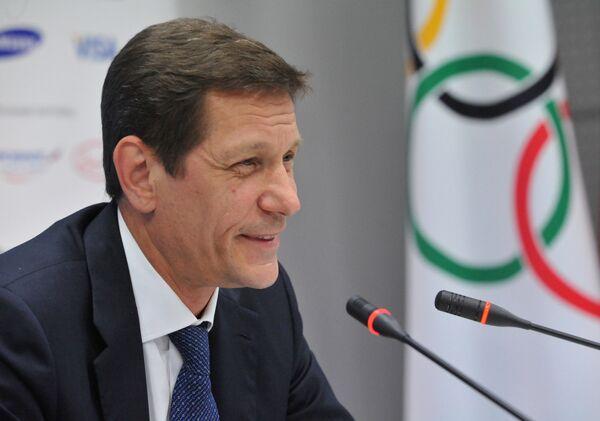 Вице-премьер РФ, президент Олимпийского комитета России Александр Жуков. Архив