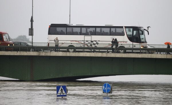 Уровень воды в Висле превысил 7,5 метра