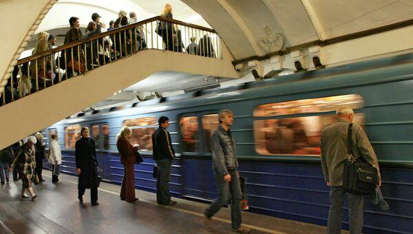 Вестибюль станции Арбатская. Архив