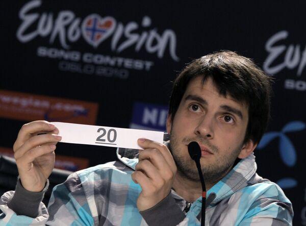 Музыкальный коллектив Петра Налича - участник Евровидения-2010 от России