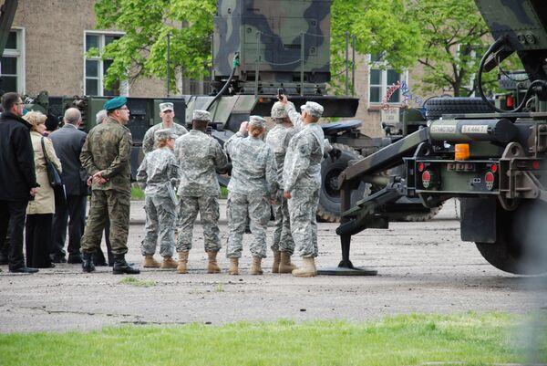 Американские ракеты Пэтриот в Моронге