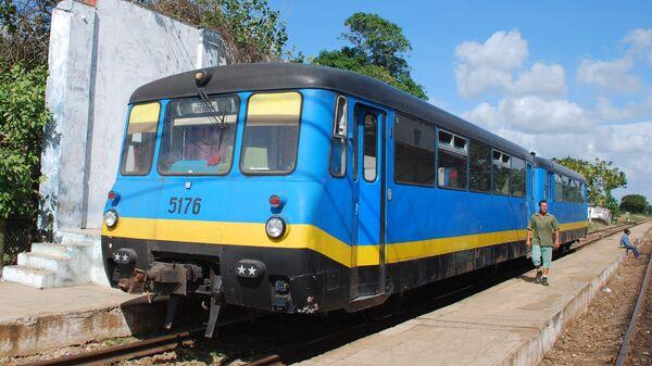 Кубинские железные дороги. Архивное фото