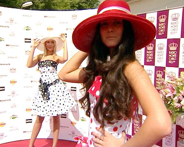 Звезды отказались от скромности на скачках Гран-при Монте-Карло