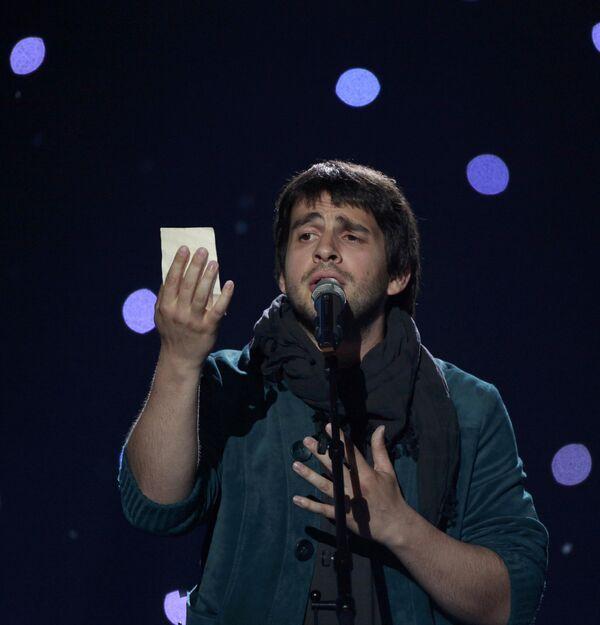 Выступление Петра Налича в финале Евровидения