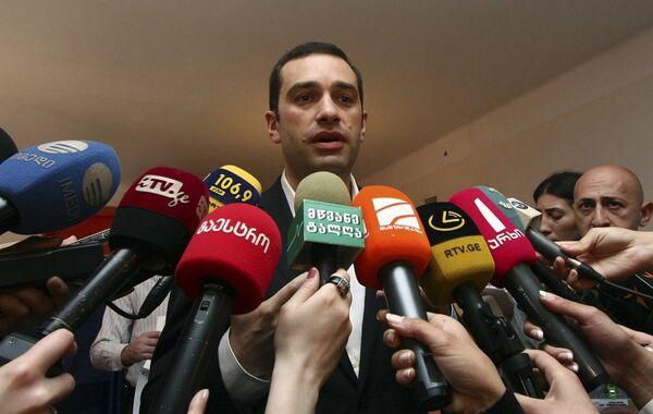Ираклий Аласания на выборах в Грузии 30 мая 2010