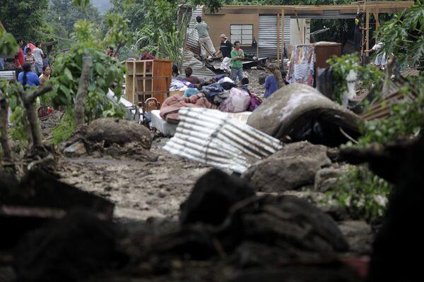 Последствия шторма Агата в Гватемале 30 мая 2010 года
