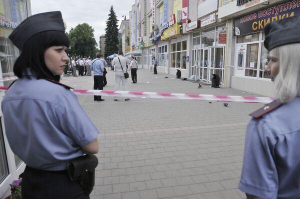 Нападение на инкассаторов в Воронеже