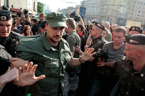 Марш несогласных на Триумфальной площади в Москве. Архив