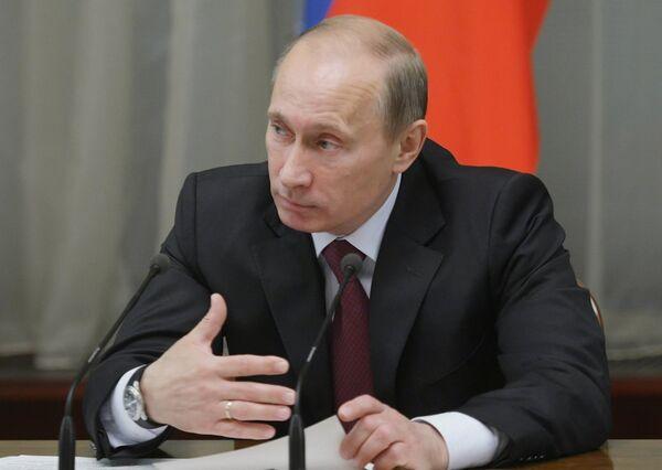 Премьер-министр РФ Владимир Путин. Архив