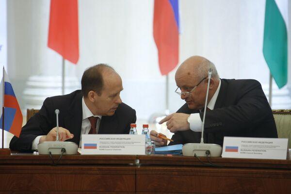 Заседание Совета руководителей органов безопасности и спецслужб государств-участников СНГ