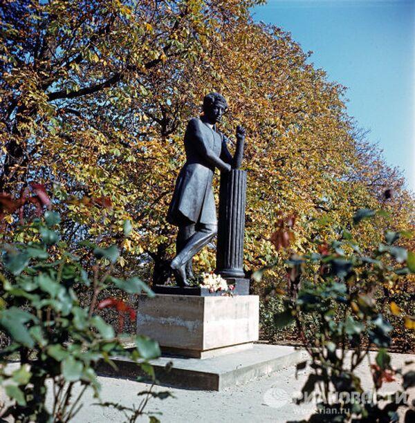 Памятник А.С. Пушкину в Молдавии