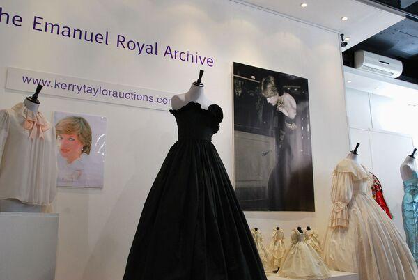Платья принцессы Дианы на лондонском аукционе