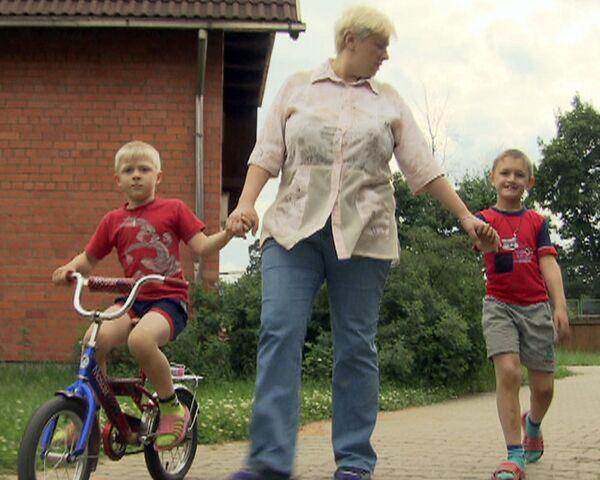 Дети-сироты в подмосковной деревне живут как в семье