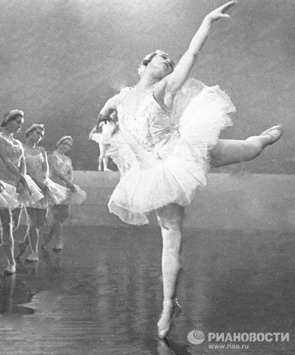 Народная артистка СССР Марина Семенова