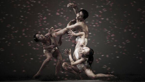 Спектакль Шепот цветов, поставленный тайваньским театром танца Клауд Гейт по мотивам пьесы Антона Чехова Вишневый сад