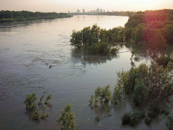 Наводнение в Варшаве. Архив