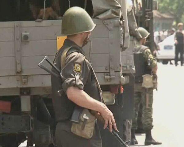 Операция по обезвреживанию членов группы, подозреваемой в нападениях на милиционеров в Приморье