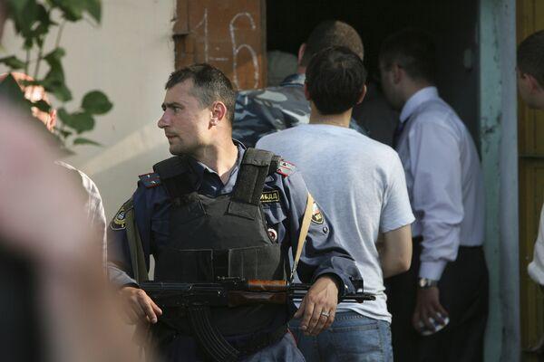 Группа, нападавшая на милиционеров в Приморье, обезврежена