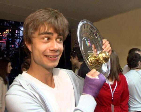 Александр Рыбак едва не потерял дар речи, получив премию Муз-ТВ 2010