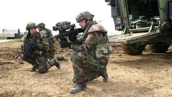 Французские военные. Архивное фото