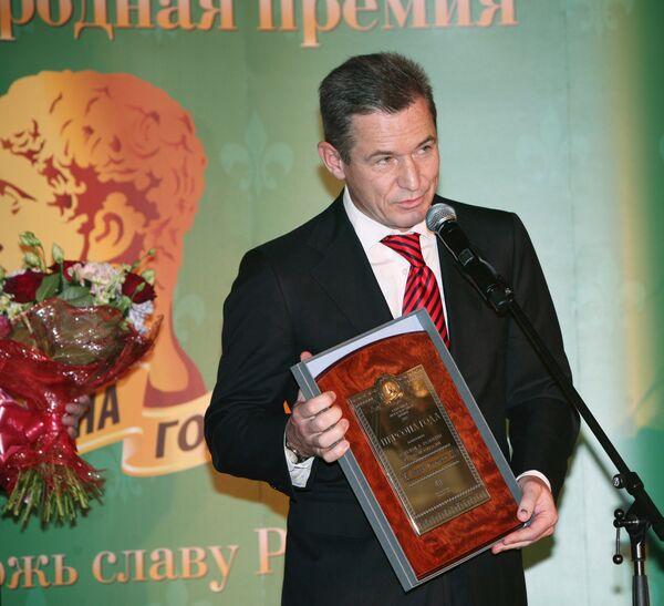 Председатель совета директоров Нефтегазовой компании Итера Игорь Макаров
