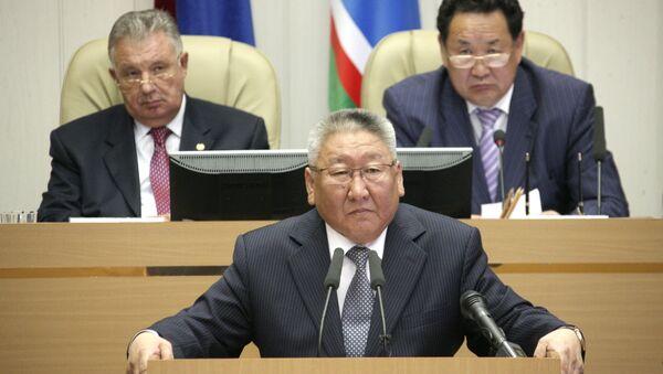 Парламент Якутии наделил Егора Борисова полномочиями президента республики
