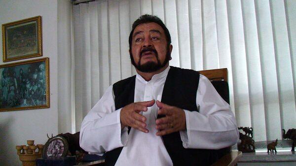 Президент национальной коалиции Афганистана по диалогу с племенами, принц королевской династии Дуррани Абдул Али Сирадж
