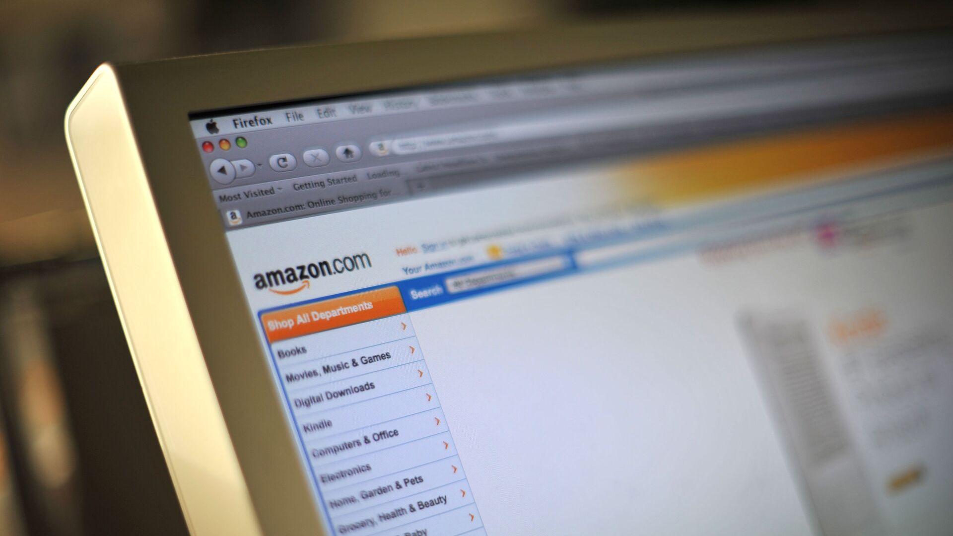 Интернет-магазин Amazon.com - РИА Новости, 1920, 02.03.2021